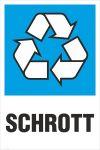 Recycling-Aufkleber