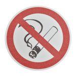 m2-Antirutsch, Durchmesser 400mm, Bodenmarkierer Kreis, «Rauchen verboten», bei mittlerer/hoher Beanspruchung