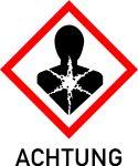 Gefahrstoffaufkleber